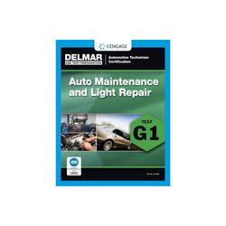 ASE Technician Test Preparation Automotive Maintenance and Light Repair (G1) - (Paperback)