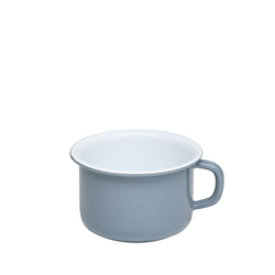 Riess Tasse Riess Kaffeeschale Emaille 10cm 0,4 Liter, Emaille