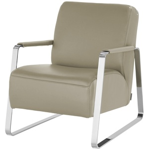 W.SCHILLIG Leder Sessel  17350 Quadroo ¦ beige » Möbel Kraft