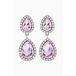 Next Paar Ohrhänger Kristall-Ohrhänger (1-tlg) rosa