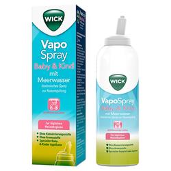 WICK Vapospray zur Nasenspülung für Kinder 100 ml