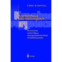 Krankenhausbetriebsvergleich - Buch