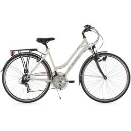 KS-CYCLING Vegas 28 Zoll RH 53 cm Flachlenker Damen weiß
