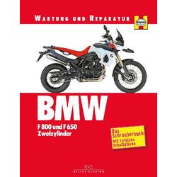 BMW F 800 und F 650 Zweizylinder als Buch von Phil Mather