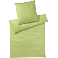 Yes for Bed Pure & Simple Uni gelbgrün (155x220+80x80cm)