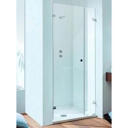 Sprinz BS-Dusche Glasdusche, ein Festteil mit einer Duschtür für Nische