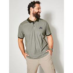 Poloshirt Men Plus Oliv