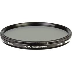 Hoya Variable Density ND 3-400 Filter (82mm, ND- / Graufilter), Objektivfilter, Schwarz