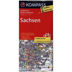 Sachsen 1:125 000