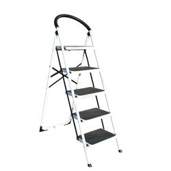 Stahlleiter klappbar mit sicherheitsgriff, 5 stufen