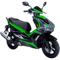 GT UNION Motorroller Striker, 50 ccm, 45 km/h, Euro 4