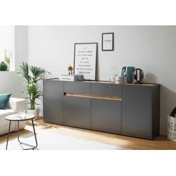 INOSIGN Sideboard CiTY Sideboard 52, im modernen Design grau