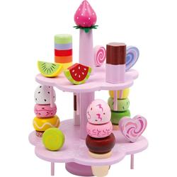 Small Foot Kinder-Küchenset Etagere Süßigkeiten, (22-tlg)