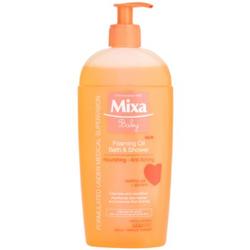 MIXA Baby schaumiges Öl für Dusche und Bad 400 ml