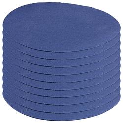 Schnellhaftende Bügelflicken aus Baumwolle, 10 Stück in blau