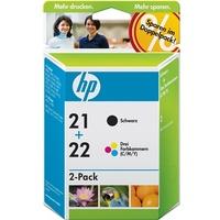 HP 21 schwarz + 22 CMY (SD367AE)