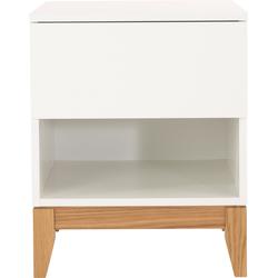 Woodman Beistelltisch Elinee, im angesagten skandinavischen Look. weiß Beistelltische Tische