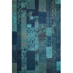 Teppich MARAKESCH türkis (BL 80x250 cm)