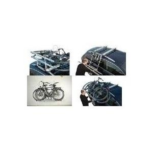 FISCHER Dachlift-Fahrradträger, für 2 Fahrräder zur Befestigung auf der KFZ-Dachreling - 1 Stück (18092)