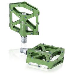 XLC Fahrradpedale XLC MTB/Trekking Plattformpedal Colour Edition PD-M12 grün