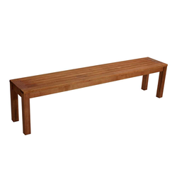 Holzbank für Garten Eukalyptusholz massiv