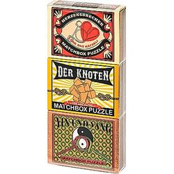 Puzzle Matchbox  3er Set