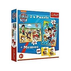 2in1 Puzzles + Memo - PAW Patrol (Puzzle)
