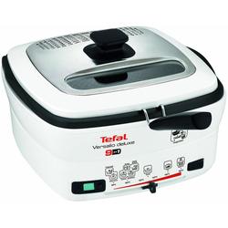 Tefal Fritteuse deLuxe FR4950 mit Pfannenwender, 1600 Watt, Fritteuse, 282020-0 weiß weiß