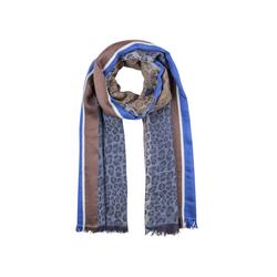 Premium Leo-Schal mit edlen Glanzakzenten Codello jeans blue