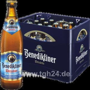 Benediktiner Weissbier Alkoholfrei 20x0,5 l