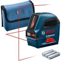 Bosch Professional GLL 2-10 Linienlaser selbstnivellierend, inkl. Tasche Reichweite (max.): 10m
