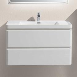 Waschtisch in Weiß Einlass-Waschbecken