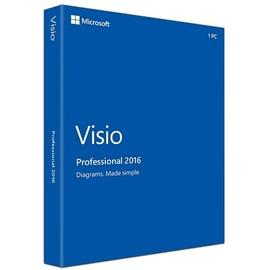 Microsoft Visio Professional 2016 PKC EN Win