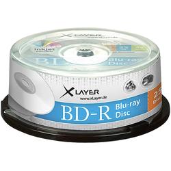Blu-ray-Rohlinge BD-R 25 GB 4x, printable, 25er-Spindel