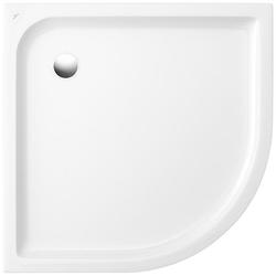 Villeroy & Boch Eck-Duschwanne O.NOVO mit Antirutsch 800 x 800 x 60 mm weiß