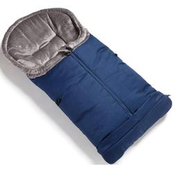 tfk Fußsack marine, mit verlängerbarem Fußteil blau