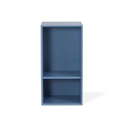 Kleines Regal in Blau 70 cm breit