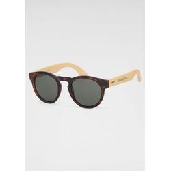 Retrosonnenbrille Mit Holzbügeln