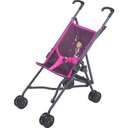 Puppenbuggy Sim - NICI Miniclara rosa/lila