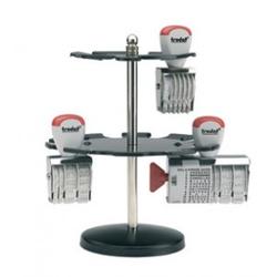 Trodat Stempelträger 3016/M, Metall,  für 16 Stempel