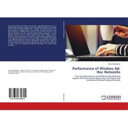 Performance of Wireless Ad-Hoc Networks als Buch von Esra'a Bashayreh
