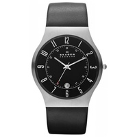 Skagen Grenen Slimline Leather