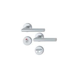 Edelstahl Wohnraumgarnitur Gehrungs-Form Kl.3 - WC