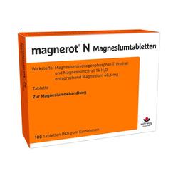 MAGNEROT N Magnesiumtabletten 100 St