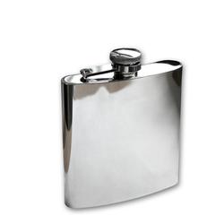 Mil-Tec Flachmann Edelstahl 150 ml