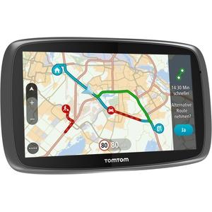 TomTom Go 6100 World Navigationssystem (15 cm (6 Zoll) kapazitives Touch Display, Magnethalterung, Sprachsteuerung, mit Traffic/Lifetime Weltkarten)
