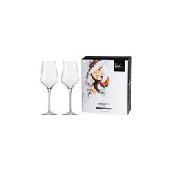 Eisch Weißweinglas Sky SensisPlus Weißweinglas 2er Set (2-tlg), Glas