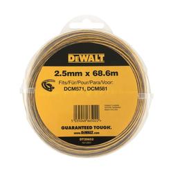 Ø 2.5mm Trimmerfaden für Akku Motorsense | DT20652-QZ