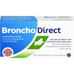 BRONCHODIRECT Schmelzfilm 16 mg 30 St.