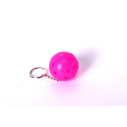FLOORBEE Floorball Keychain 1 St., rosa